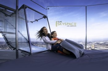 Daily Admission to Skyspace LA with Skyslide Combo