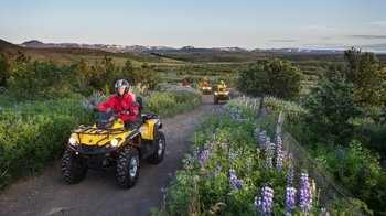 Full-Day Quad bike Adventure & Guided Golden Circle Tour