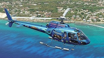 Panoramic City Tour & Seven Mile Beach Helicopter Ride