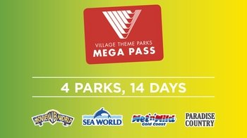 Gold Coast 4-Park Mega Pass