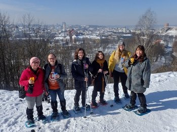 Guided City Snowshoe Tour on Nature Trails