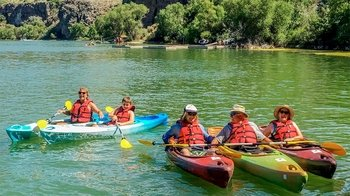 Kayak Rental to Pillar Falls & Shoshone Falls