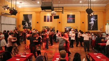 Tango Lesson & Live Milonga Dance Shows