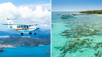 Scenic Reef Flight & Green Island Tour
