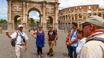 Colosseum & Forum Tour with Special Gladiator's Gate & Arena Floor Access
