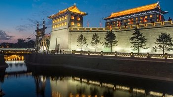 Night Tour of South Gate Square & Big Wild Goose Pagoda