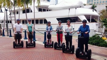 Segway Yacht & Mansion Tour