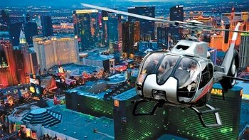 Foodie Tour of Exclusive Restaurants & Night Helicopter Flight