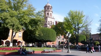 Colonial Queretaro via Trolley Car