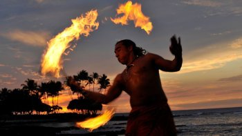 The Sunset Luau at the Waikoloa Beach Marriott Resort