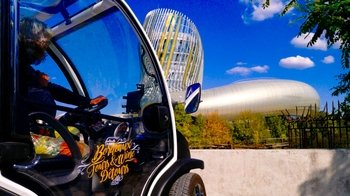 Self-Guided Electric Car UNESCO Tour & Admission to La Cité du Vin