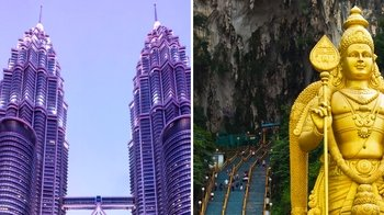 Full-Day City Tour with Petronas Twin Towers & Batu Caves