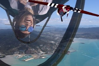 Gentle Aerobatic Flight Experience over Airlie Beach