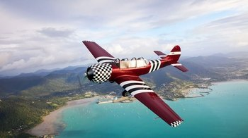 Gentle Aerobatic Flight Experience from Shute Harbour