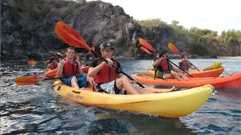 Small-Group Whale-Watching & Snorkelling Kayak Tour