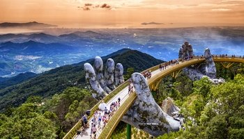 Full-Day Guided Ba Na Hills Tour with Cable Car & Lunch