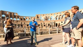 Colosseum Express: Gladiator Entrance & Arena Floor Access