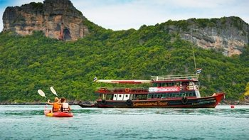 Island Tour to Ang Thong National Park via Big Boat with Lunch