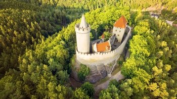 Private Sightseeing Flight over Bohemian Castles