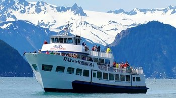 Half-Day Resurrection Bay Wildlife Cruise with National Park Ranger Guide