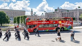 Stockholm Hop-On Hop-Off City Tour by Red Buses