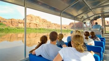 Calm Colorado River Express Jet Boat Tour