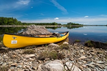 3-Day Guided Canoe Adventure on Lake Rossignol