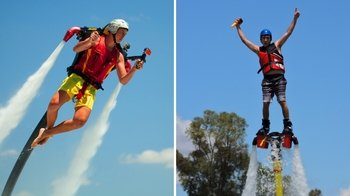 Water Jetpack & Flyboard Combo Flight Experience