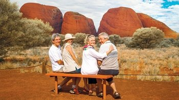Guided Sunset Tour of Kata Tjuta Sacred Site with Refreshments