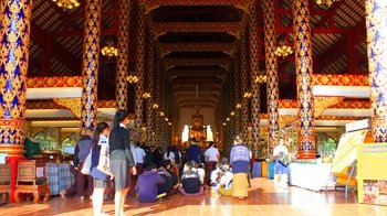 Vispassana Meditation & Discussion with Local Monks at Wat Suan Dok Temple
