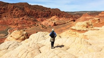 Cottonwood Narrows, Hackberry Canyon & Grosvenor Arch Full-Day Tour