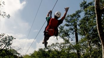 Zipline Tour at Coral Crater Adventure Park