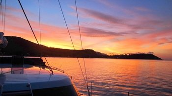 Private Luxury Catamaran Sunset Cruise with Personal Chef