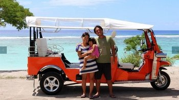 Highlights of Rarotonga Tour By Electric Tuk Tuk