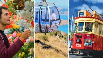 Combo: Hop-On Hop-Off Tram, Gondola Ride & Gardens Tour