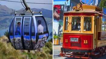 Combo Ticket: Hop-On Hop-Off Tram Tour & Gondola Ride