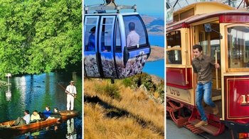 Combo Pass: Punting on the Avon, Hop-On Hop-Off Tram Tour & Gondola Ride