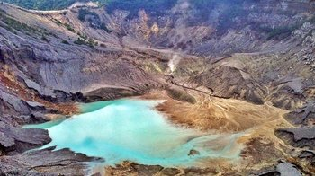 Private Full-Day Tour to Mt. Tangkuban Perahu & Sari Ater Hot Springs