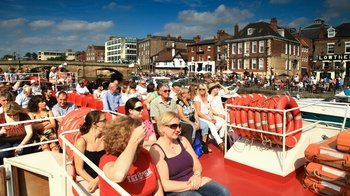 City Cruise on the River Ouse