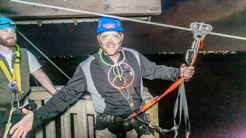 Night Flight Zip line Tour