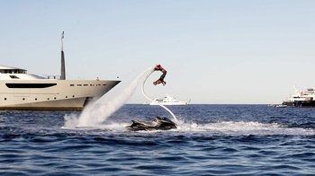 Small-Group Flyboard Adventure on Kim Sha Beach