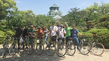 Full-Day Biking Tour of Osaka with Lunch