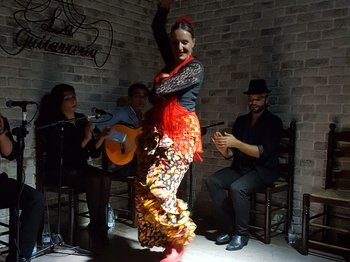 3-Course Paella Lunch in Alicante harbour & Evening Flamenco Show
