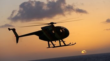 North Shore Sunset Helicopter Tour