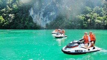 Half-Day Jet Ski Tour around Cenang Beach