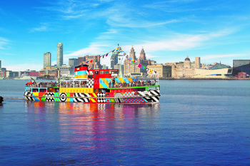 Combo Package: River Mersey Cruise & Shoreside Attractions