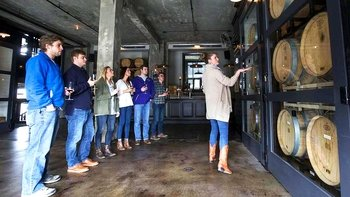 Winery Tour with Tastings & Snacks