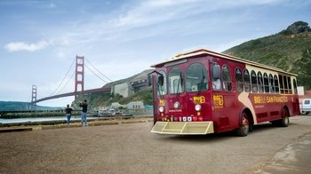 Combo Alcatraz & Hop-On Hop-Off Tour of Sausalito & Golden Gate Bridge