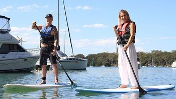 Guided Stand-Up Paddleboarding Tour