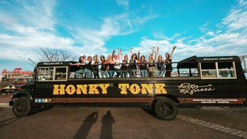 Private Tour of Nashville in an Open-Air Party Bus